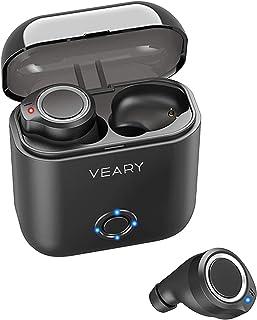 Bluetooth Headphones Wireless Earbuds TWS Stereo Headphones in Ear Built in Mic Earphones Waterproof Premium Sound with De...