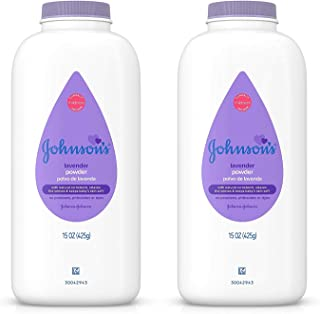 Johnson's Baby Powder, Lavender 15 oz (425 g)(pack of 2)