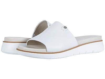 Cole Haan Zerogrand Global Slide Sandal (Optic White/Pumice Stone/Optic White) Women