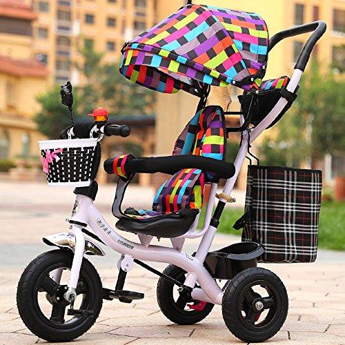 Children's bike Cochecito de bebé de los Hombres y de Las Mujeres, Bici, Triciclo de los niños, Carretilla Ligera, Bici de los niños (Color : # 6)