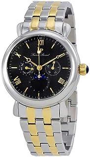 Lucien Piccard Men's 'Sierra' Quartz Stainless Steel Casual Watch (Model: LP-40007-SG-11)