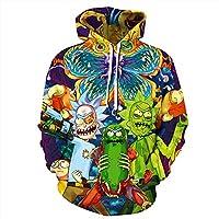 Newcosplay Unisex 3D Print Pullover Hoodie Sweatshirt (various style options)