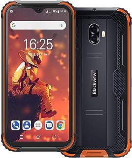 """Rugged phone, blackview BV5900 4G 5580mAh rugged smartphone, 5.7"""" waterdrop display dual sim unlocked phones, android 9.0 ..."""