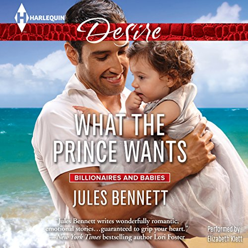 What the Prince Wants                   By:                                                                                                                                 Jules Bennett                               Narrated by:                                                                                                                                 Elizabeth Klett                      Length: 5 hrs and 36 mins     77 ratings     Overall 4.3