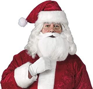 Best santa hat with attached beard Reviews
