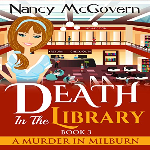 Death in the Library audiobook cover art