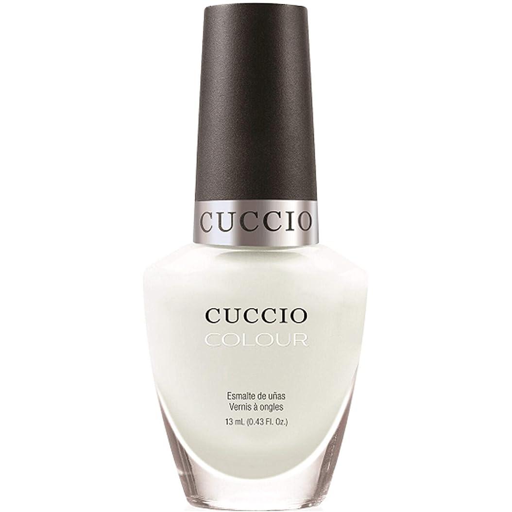 比類のない理容師山岳Cuccio Colour Gloss Lacquer - White Russian - 0.43oz / 13ml