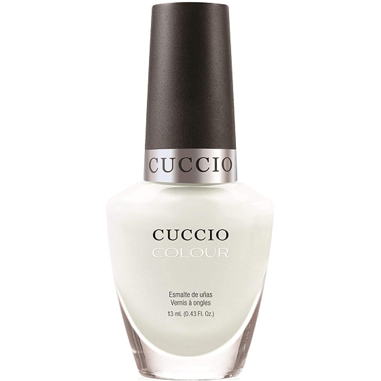 群がる一瞬ロールCuccio Colour Gloss Lacquer - White Russian - 0.43oz / 13ml