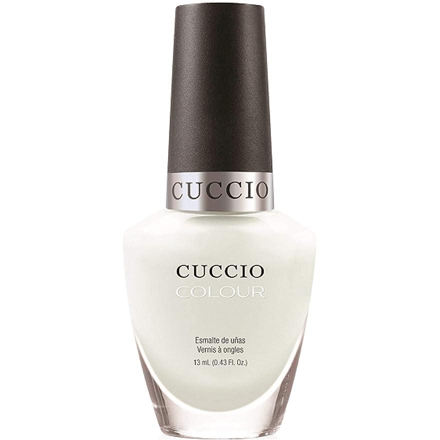 テセウス風邪をひくバリアCuccio Colour Gloss Lacquer - White Russian - 0.43oz / 13ml