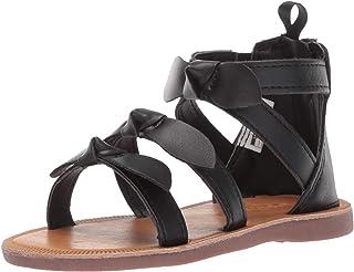 f627d2d75a08 OshKosh B Gosh Girl s Winona Bow-Accented Strappy Sandal