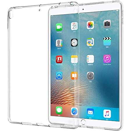 iPad Air 3 ケース iPad Pro 10.5 ケース【CEAVIS】iPad air 2019 10.5 / iPad Pro 10.5 2017 兼用カバー クリア ソフト シリコン TPU ケース 超軽量 衝撃防止 (クリア)