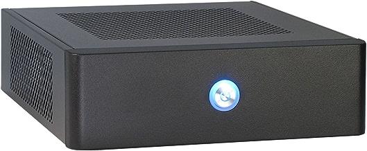 Inter-Tech ITX-601 Carcasa de Ordenador Escritorio Negro 60 W - Caja de Ordenador (Escritorio, PC, ITX, Negro, Hogar/Oficina, CE)