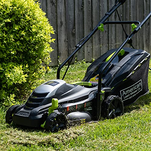 American Lawn Mower 50514 14-Inch 11-Amp Corded Electric Lawn Mower, Black