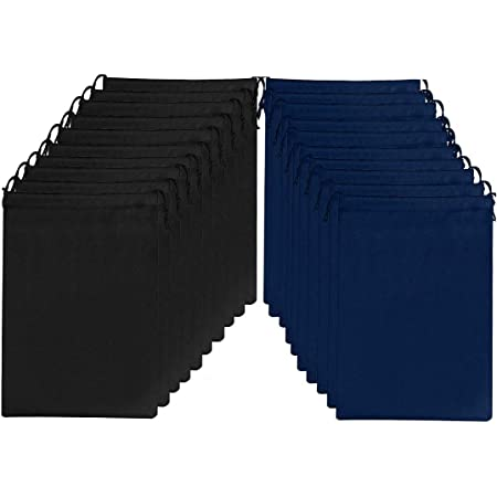Biluer Sacchetti Portascarpe Viaggio 20PCS Borsa Scarpe Da Viaggio Antipolvere Non Tessuto Porta scarpe Da Viaggio Multi-funzione Borsa Da Viaggio Taglia Per Uomo e Donna 38 x 30cm Blu Dark