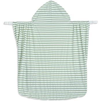 ベビーケープ 抱っこひもケープ UVカット97% シャダンケープ 夏 ひんやり 涼感 抱っこ紐 ケープ マルチケープ 日よけ フード付き 収納袋付き 軽量 抱っこ おんぶ ベビーカー 簡単装着 1か月~3歳まで (緑)