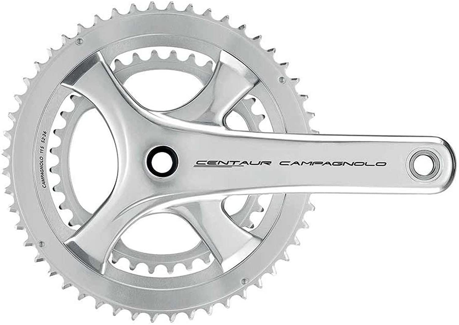 CAMPAGNOLO Centaur Ut 175 x 5034 Teeth 11 Speed Bike Cranksets, Silver