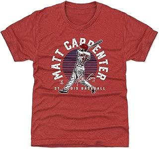 500 LEVEL Matt Carpenter St. Louis Baseball Kids Shirt - Matt Carpenter Emblem
