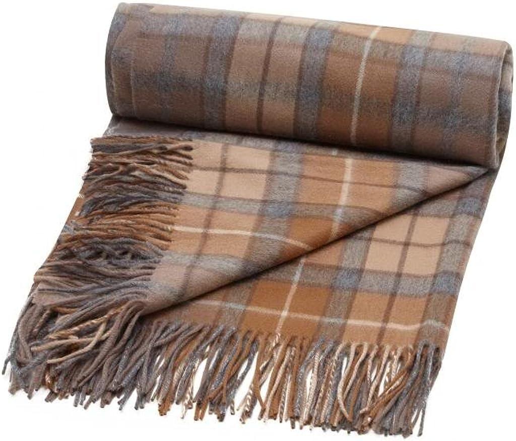 Scottish Wear 100% Pure Cashmere Luxury Tartan Blanket