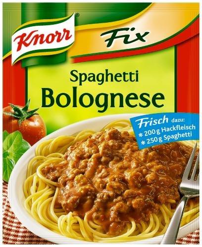 Knorr Fix für Spaghetti Bolognese, 26er Pack (26 x 46 g Beutel)