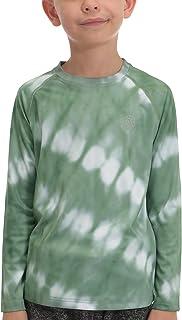 Sun Shirts for Youth Boys Rashguard - Long/Short Sleeve...