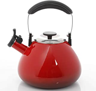 Mr. Coffee Marlowe 3 Quart Tea Kettle, Red