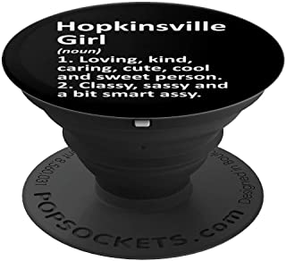 HOPKINSVILLE GIRL KY KENTUCKY Funny City Home Roots Gift PopSockets Grip and Stand for Phones and Tablets