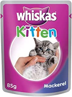 Whiskas Kitten Mackarel - 85 gm