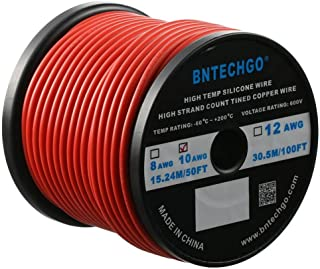 Best 12 gauge red wire Reviews