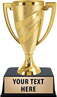 Crown Awards Gold Cup Trophies with Custom Engraving, 6