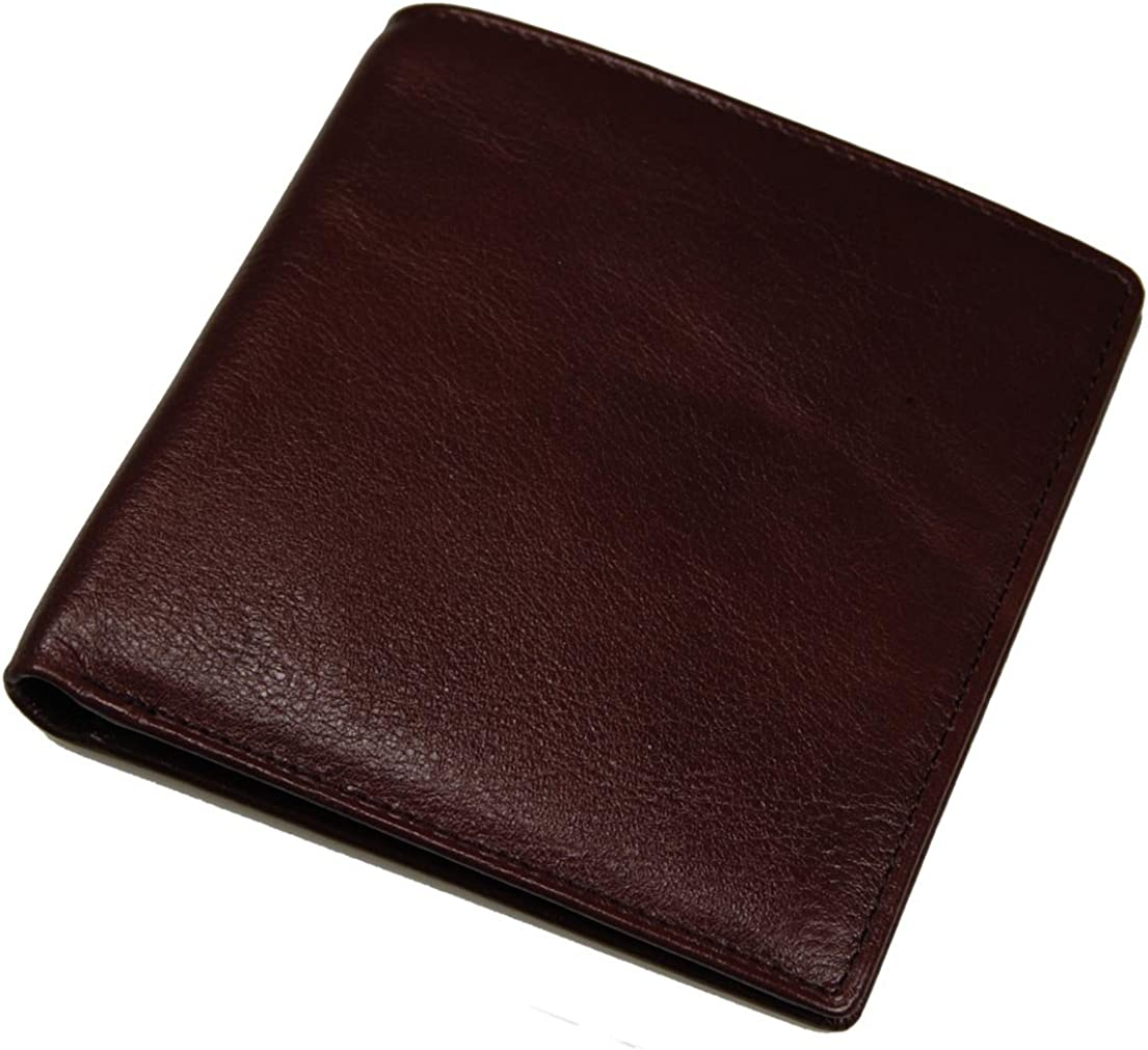 Castello Italian Leather Hipster Wallet with RFID Security