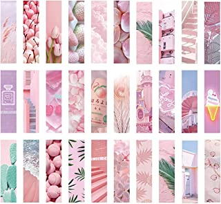 30 Pcs Pink Bookmarks,Book Markers Gifts for Women, Kids, Teens Girls, Readers and Book Lovers.