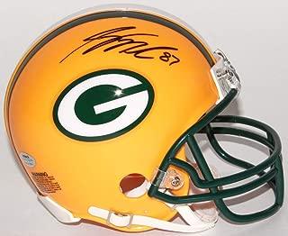 Jordy Nelson Green Bay Packers Signed Autograph Mini Helmet Schwartz Sports Certified