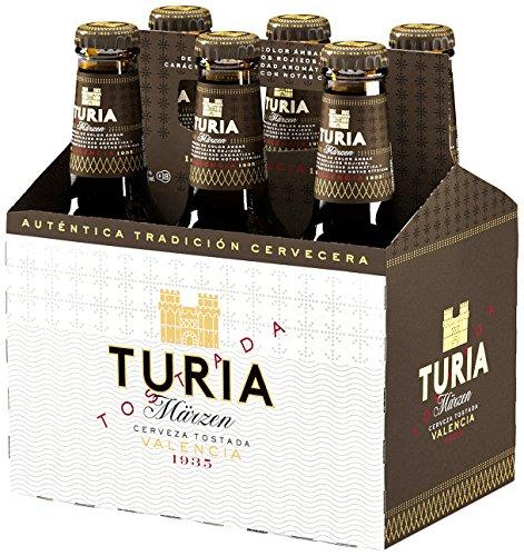Cerveza Tostada Turia Märzen Cesta de 6 Botellas 25cl