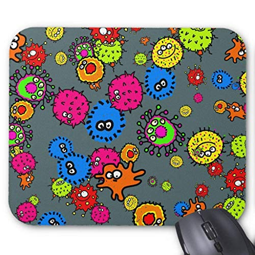 Muis Mat, Gaming Mouse Pad Grote Grootte 300x250x3mm Dikke Bacteriën Behang Verlengde Muis Pad Antislip Rubber