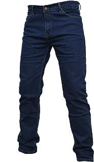 shop casillo Jeans Uomo Regular Fit Elastico Gamba Dritta 46 48 50 52 54 56 58