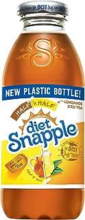 Diet Snapple Half 'n Half, 16 fl oz (24 Plastic Bottles)