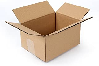 Pratt PRA0016 100PK 100% Recycled Corrugated Cardboard Box, 8
