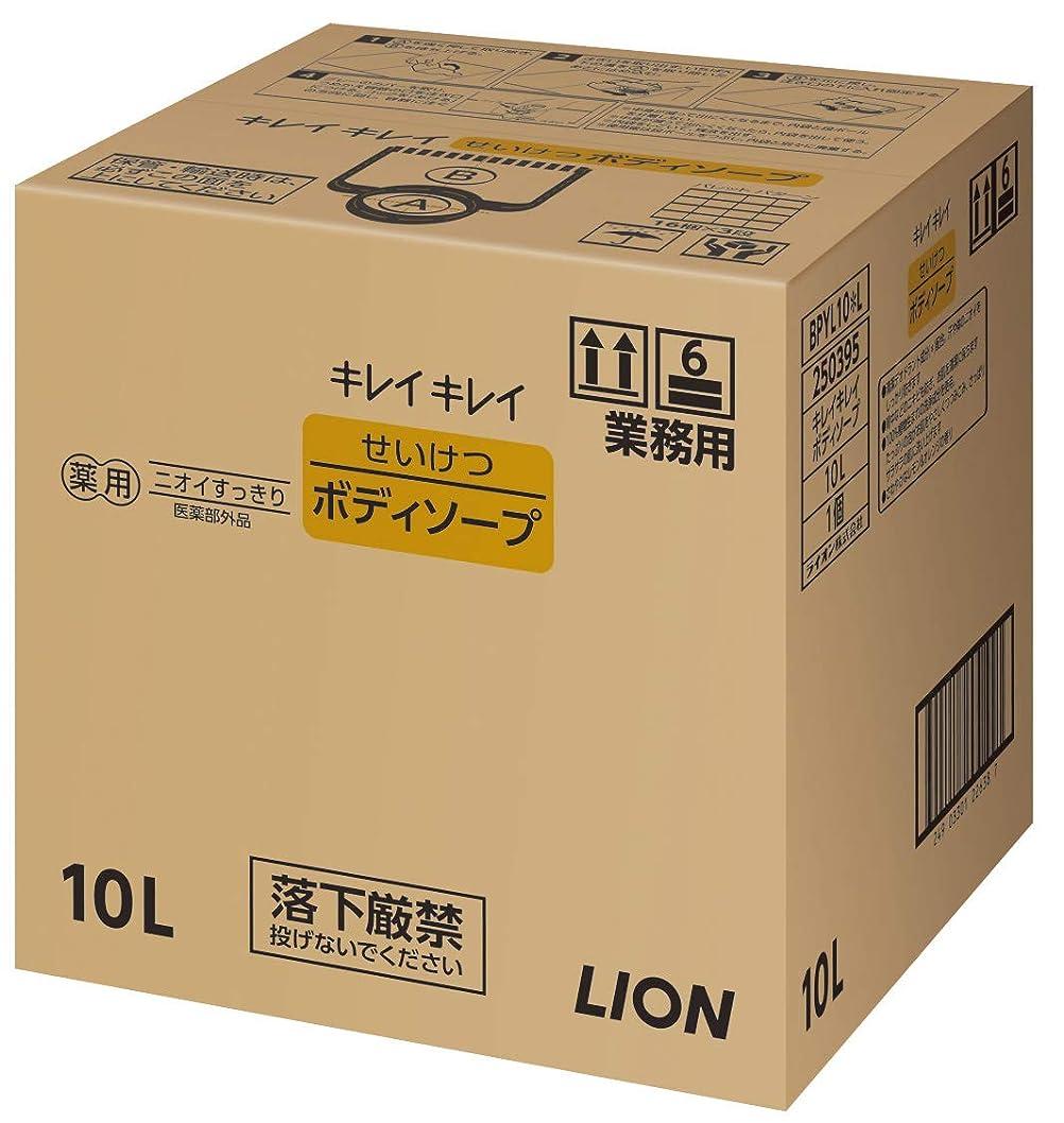 典型的な掻く守銭奴キレイキレイ せいけつボディソープ さわやかなレモン&オレンジの香り 業務用 10L