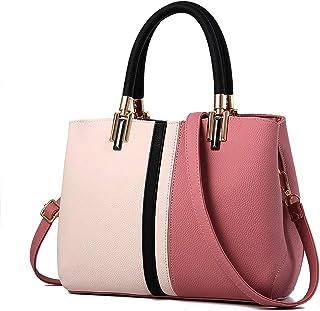 Fanspack Women Shoulder Bag Large Capacity Satchel Bag Tote Handbag Purse Crossbody Bag