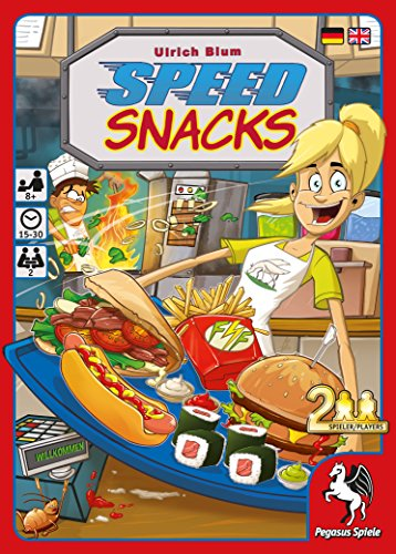 Pegasus Spiele 18118 G Speed Snacks Jeu de Cartes