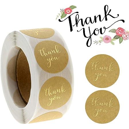 Geschenkaufkleber Karte Mitgebsel Geburtstag Sweetzer /& Orange Danke-Aufkleber Verpackungsmaterial 3,8cm F/ür Geschenk-Verpackung 1000 Sticker mit Pergamin-Papier rosa schwarze Schrift