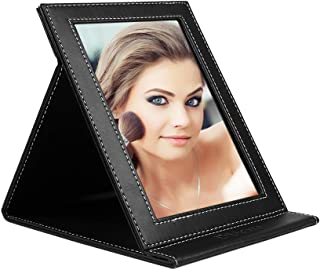 DUcare Portable Folding Vanity Mirror with Stand, Large