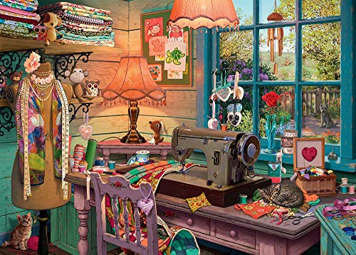 Sewing Shed 1000 PC Puzzle