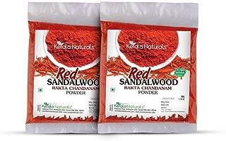 Kerala Naturals Red Sandalwood Powder - 100% Pure & Natural - 100 grams