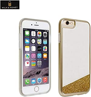 Milk & Honey Protective Cover Case For iPhone 6 (Gold Glitter)