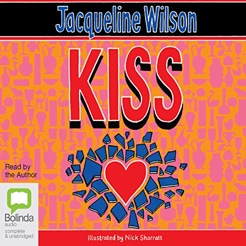 Kiss audiobook cover art