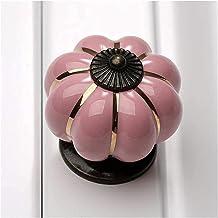 Keukendeurgrepen Kasthandgrepen Garderobe Pompoen Keramische deurknoppen Kastknoppen en handgrepen voor meubels Ladekast