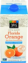365 Everyday Value, 100% Florida Orange Juice Not From Concentrate, Calcium + Vitamin D, 59 fl oz