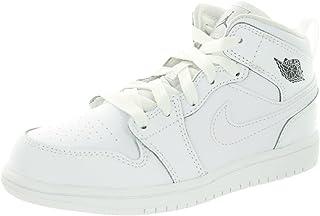 Nike Jordan Kids Jordan 1 Mid BP Basketball Shoe