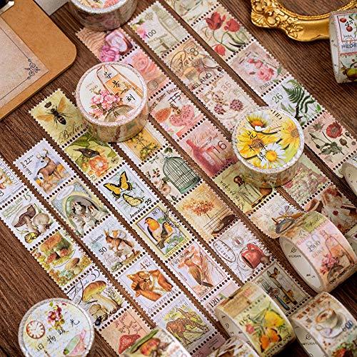 BLOUR Washi afplakband Literarische plant decoratieve plakband scrapbooking DIY papier Japanse sticker 1st. / 1lot